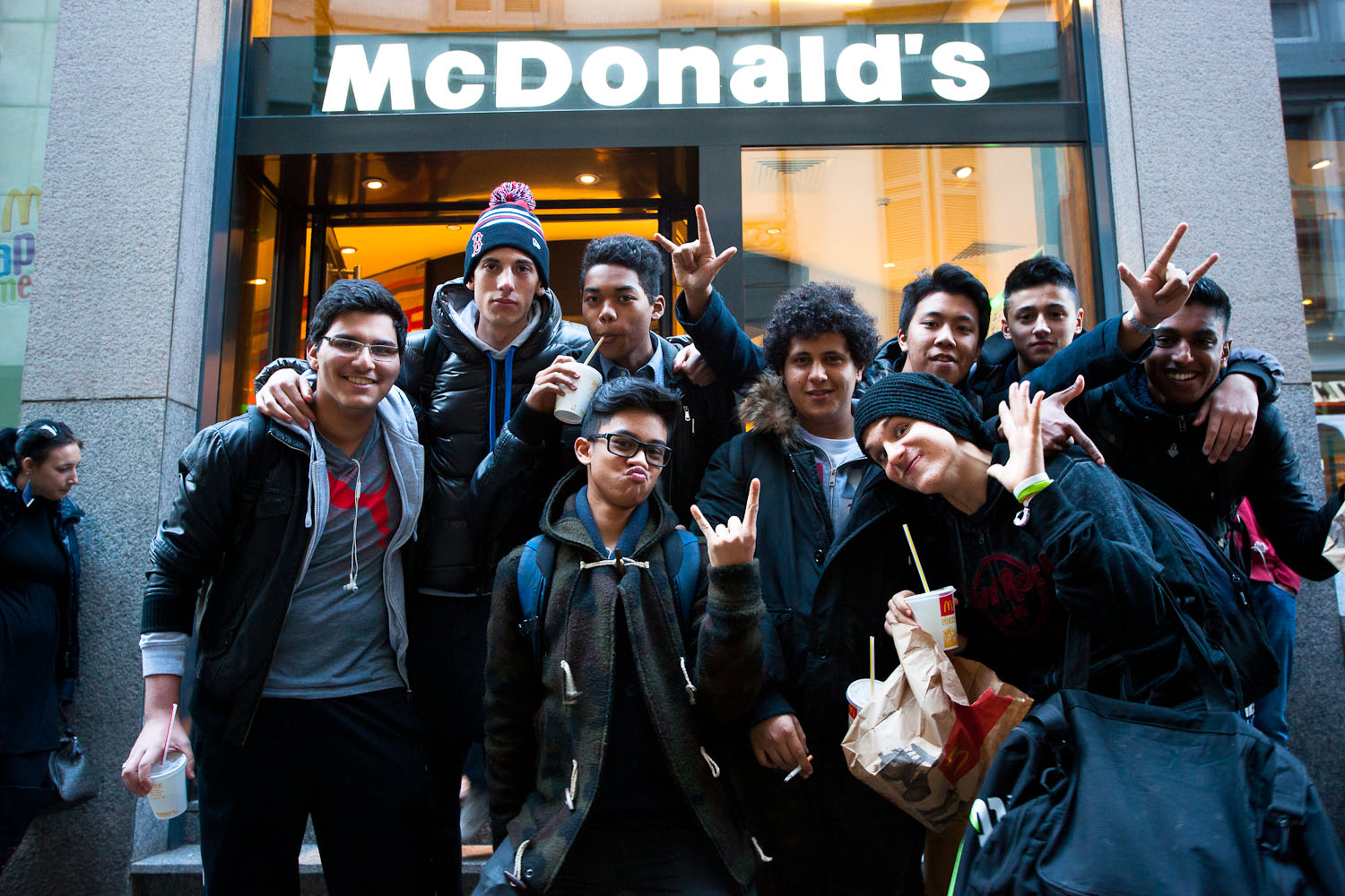 This is our MCD and we are happy