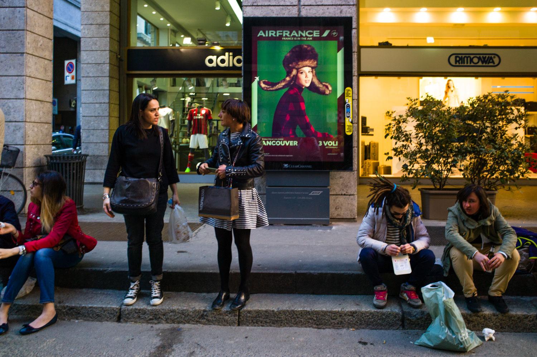 Fashion Milano Street