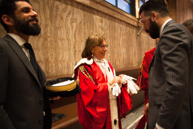 Vestizione del Presidente Vicario Dott.ssa Malacarne