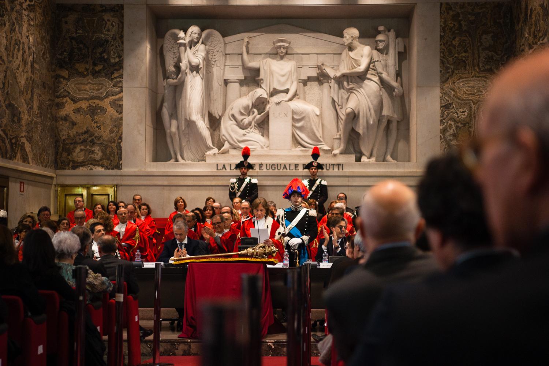 Inaugurazione Anno Giudiziario Milano - 2016